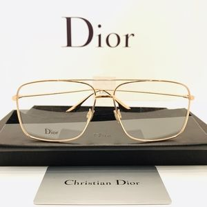"Dior Glasses Style ""DiorStellaireO3"" in Rose-Gold"